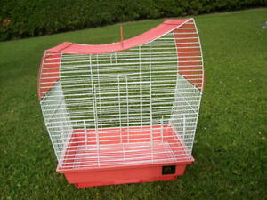 Bird cage for small birds  -  Cage pour pinsons/canari/perruche