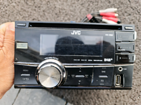 JVC KW DB60 DOUBLE DIN STEREO