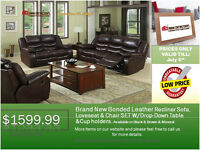 ◆Recliner Set On Sale◆Unbeatable Price Guarantee@New Direction