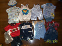Boys 6-9 month Summer Clothing