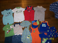 George Summer Boys Clothing, Size 12 months
