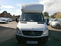 Mercedes-Benz Sprinter 313 CDI 3.5T Luton Van with Tail lift DIESEL WHITE (2013)