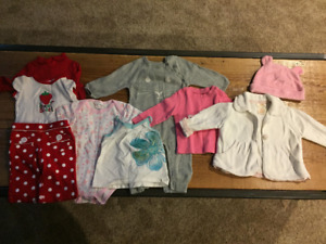 Baby clothes, assorted lots
