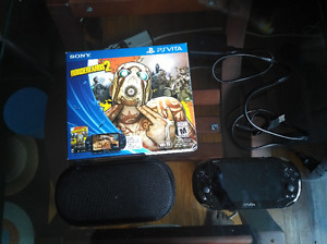 Sony Playstation Vita, 8GB Memory And Case OBO