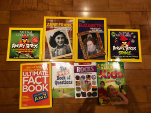 8 history and science books for kids! in excellent condition!!