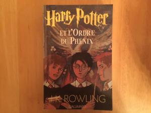 Harry Potter et l'ordre du Phénix en Grand format