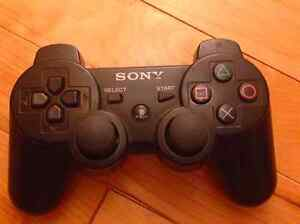 PLAYSTATION 3 (PS3) (80G) + WIRELESS DUALSHOCK 3 CONTROLER West Island Greater Montréal image 2