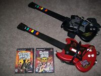 Playstation 2 Guitar Hero