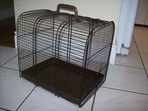 Small  Metal Pet/bird carrier  Cage transport/storage/décoration