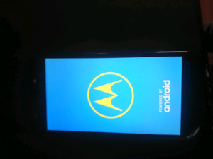 Unlocked pay as u go motorola e5play