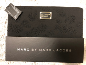 """BRAND NEW, UNUSED Marc by Marc Jacobs 15"""" Black Laptop Case"""