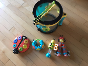 Be Bop Band Musical Instruments