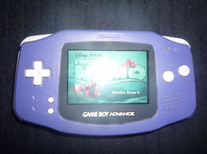 gameboy advance  with games