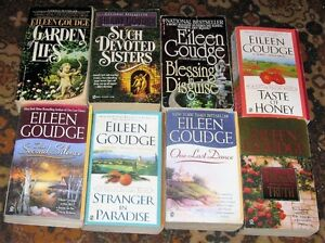 Lot of Eileen goudge books $5