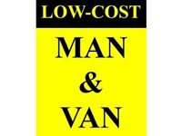 Man and van hire services from £15.00