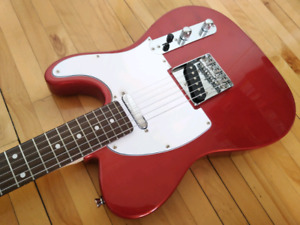 Telecaster rouge, red Aria telecaster