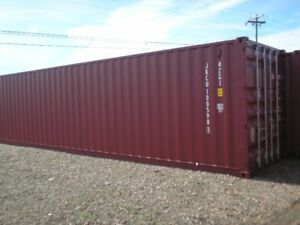8' x 40' Storage container for rent in our DOWNTOWN compound