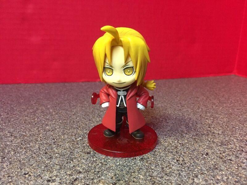 "Full Metal Alchemist FMA Edward Elric 3"" Chibi Figure Banpresto Anime Manga"