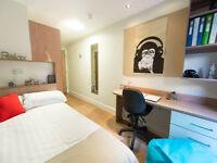 En-suite room with own bathroom near Glasgow University