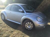 2002 VW BEETLE - FULL SERVICE HISTORY WITH RECEIPTS