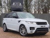 2016 16 LAND ROVER RANGE ROVER SPORT 3.0 SDV6 HSE DYNAMIC 5DR AUTO DIESEL