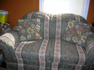 FLOWER COUCH SALE