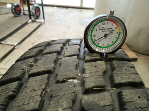 205/70/R15 Cooper  S/T2 winter tires with dodge caliber rims!
