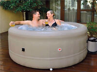 Brand New 2015 Four Season, Four Person Inflatable Hot Tub