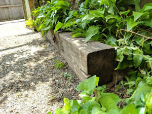 FREE Railroad Tie  (9.4 feet x 7 inches x  9 inches)