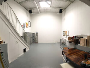Funky 1300 sq ft Loft space avail for Oct. and Nov. FURNISHED