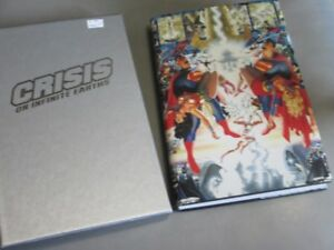 CRISIS ON INFINITE EARTHS WITH BOX COVER