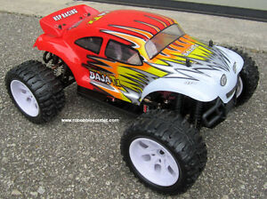 New RC Truck Baja Style Electric 1/0 Scale 4WD 2.4G RTR