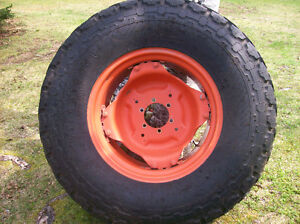 SET OF KUBOTA RIMS &  TIRES