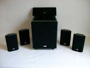 Rolkolsen R-10 HD 5.1 Surround Sound Speaker System