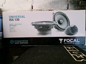 FOCAL COMPONENTS 5.25 INCH WITH CROSSOVERS AND TWEETERS
