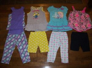 Girls Summer Clothing, Size 6