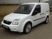 60(10) FORD TRANSIT CONNECT T200 SWB 1.8 DIESEL 5 SPEED 75BHP HIGH SPEC