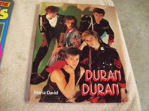 DURAN DURAN ROCK X ROLL HISTORY BOOK
