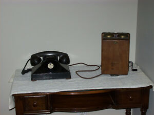 Telephone Antique Wooden