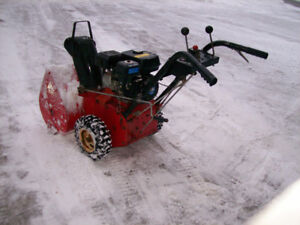 524 Toro Snow Blower With A  3 Year Old 6 .5 Hp Motor