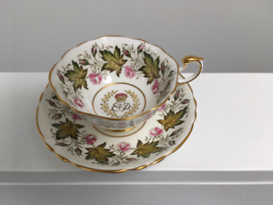 Paragon  1951 Commemorative Tea Cup and Saucer