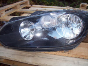 2010 Golf headlight.