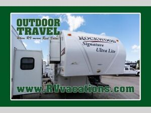 2010 Forest River RV Rockwood Signature Ultra Lite 8285WS