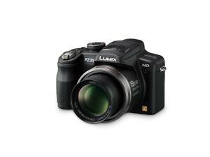 ► Panasonic Lumix DMC-FZ35 12.1MP Digital Camera with 18x Zoom