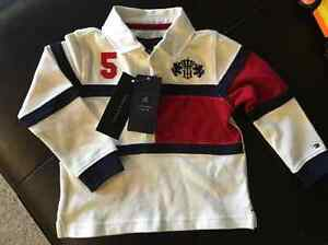 Brand new With Tags boys Tommy Hilfiger polo top size 18 month