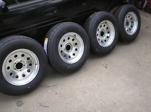 """Trailer Tire Assembly Blowout!! 13""""$119 14""""$139 15""""$169 16""""$209"""