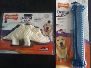 Nylabone Dental Chew Dog Chew. See Description.
