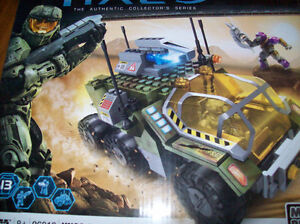LEGO HALO MEGA BLOKS UNSC GREMLIN SET