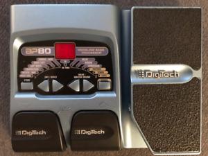 Digitech BP80 - Bass Guitar Multi-Effects Processor