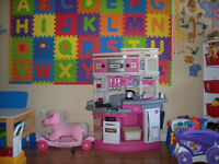 FAMILY CHILDCARE ENVIRONMENT LASALLE : $ 30 / DAY .